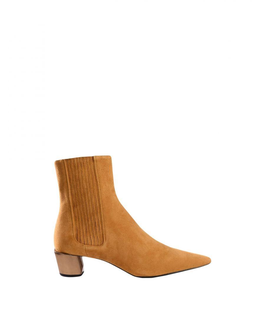 Image for Jil Sander Women's Ankle Boots Camel Leather