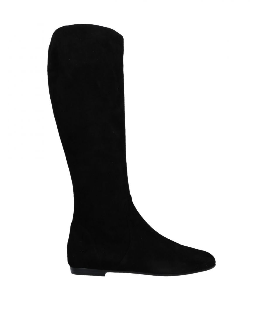 Image for Giuseppe Zanotti Black Leather Knee High Boots