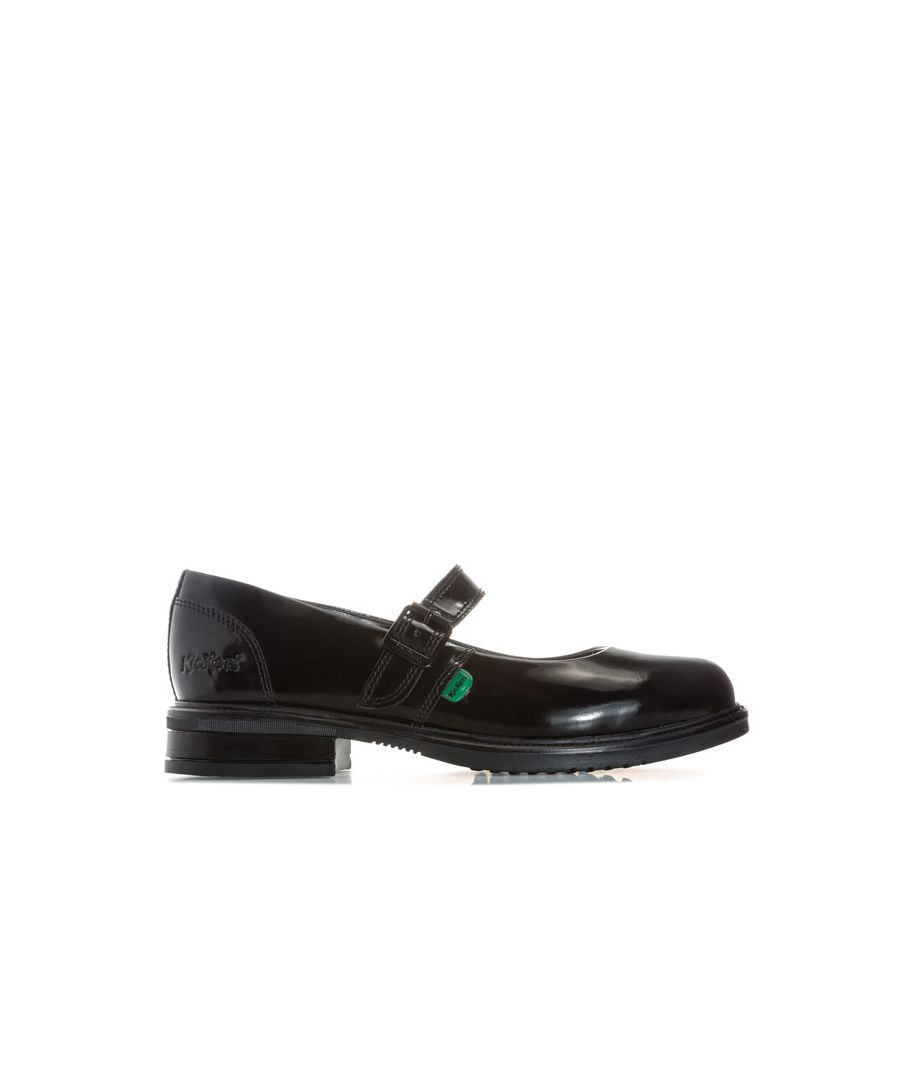 Image for Women's Kickers Lach Mary Jane Patent Shoes in Black