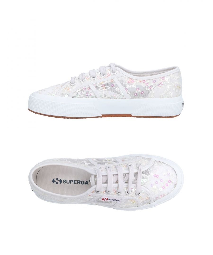 Image for Superga White Low Top Sneakers