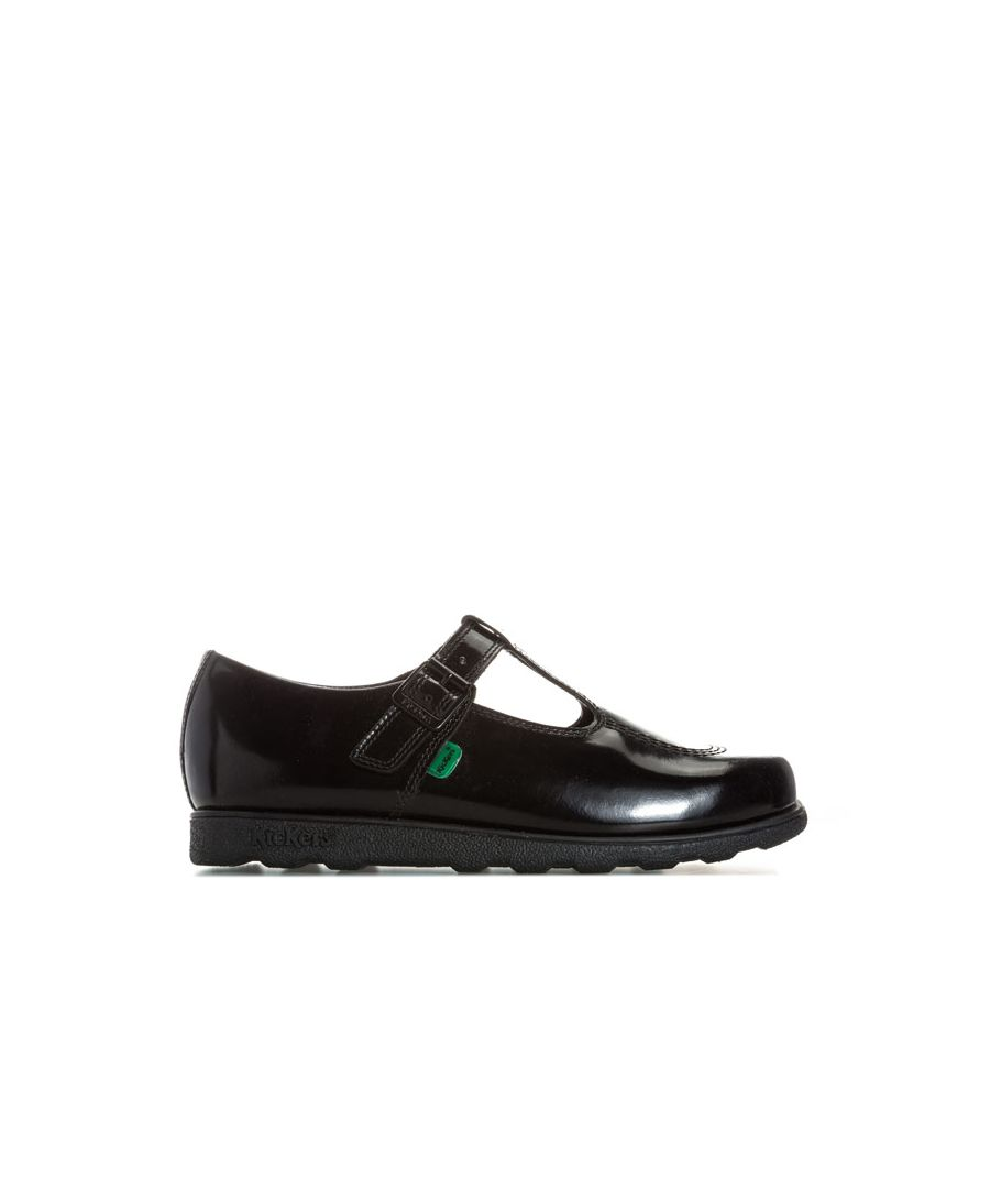 Image for Women's Kickers Fragma T Patent Shoes in Black