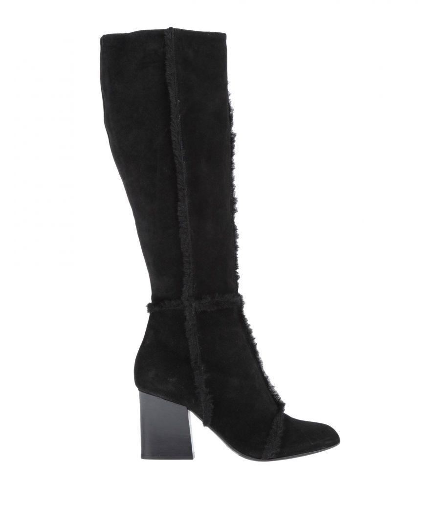 Image for Emporio Armani Black Leather Boots