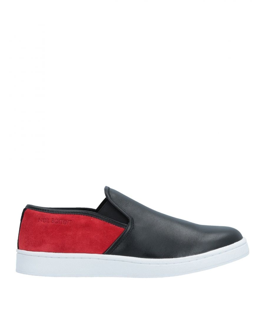 Image for Neil Barrett Black Leather Slip Ons