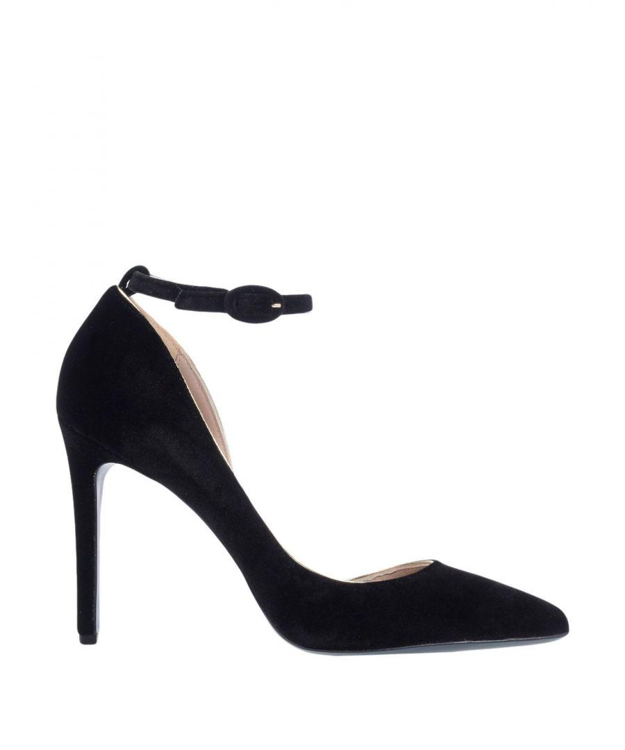Image for Patrizia Pepe Black Velvet Heels