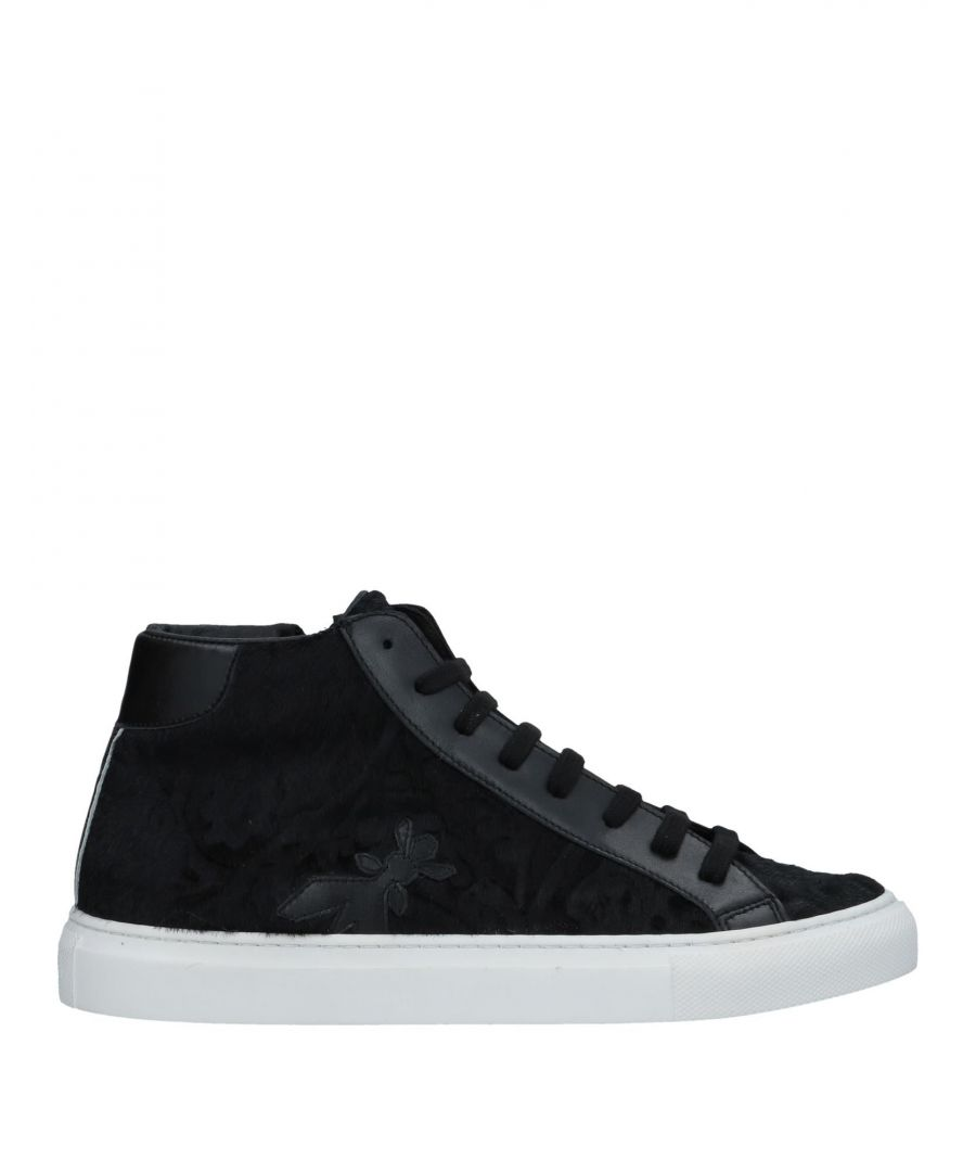 Image for Patrizia Pepe Black Leather Sneakers
