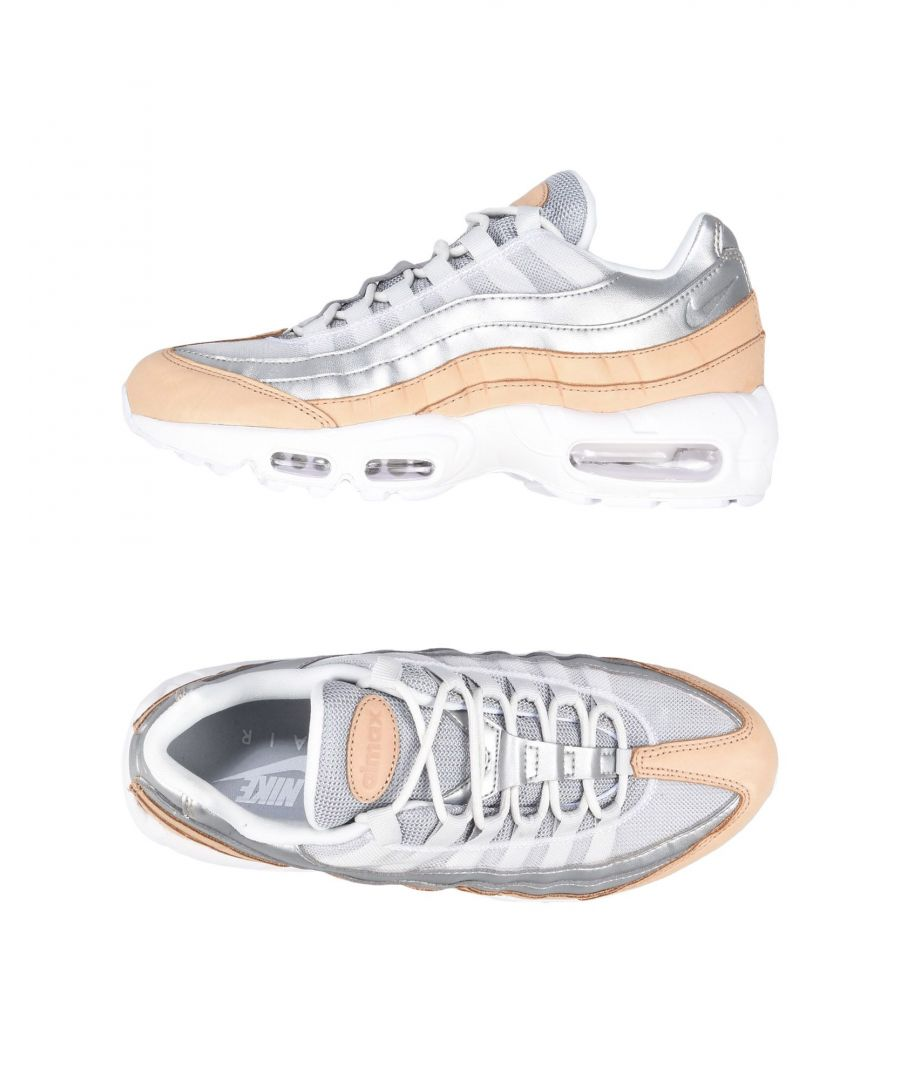 Image for Nike Silver Leather Sneakers