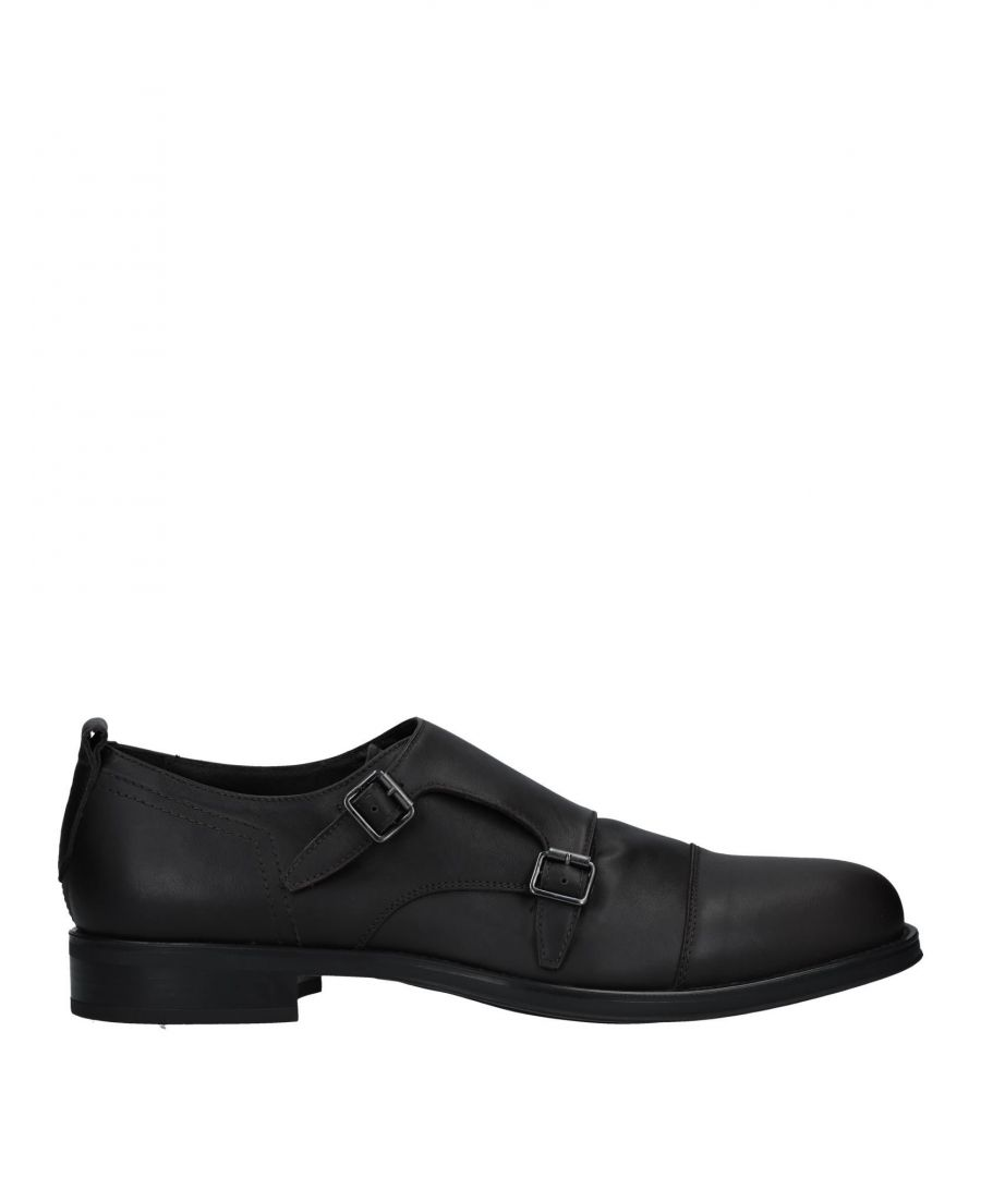 Image for Bruno Bordese Dark Brown Leather Double Monkstrap Shoes
