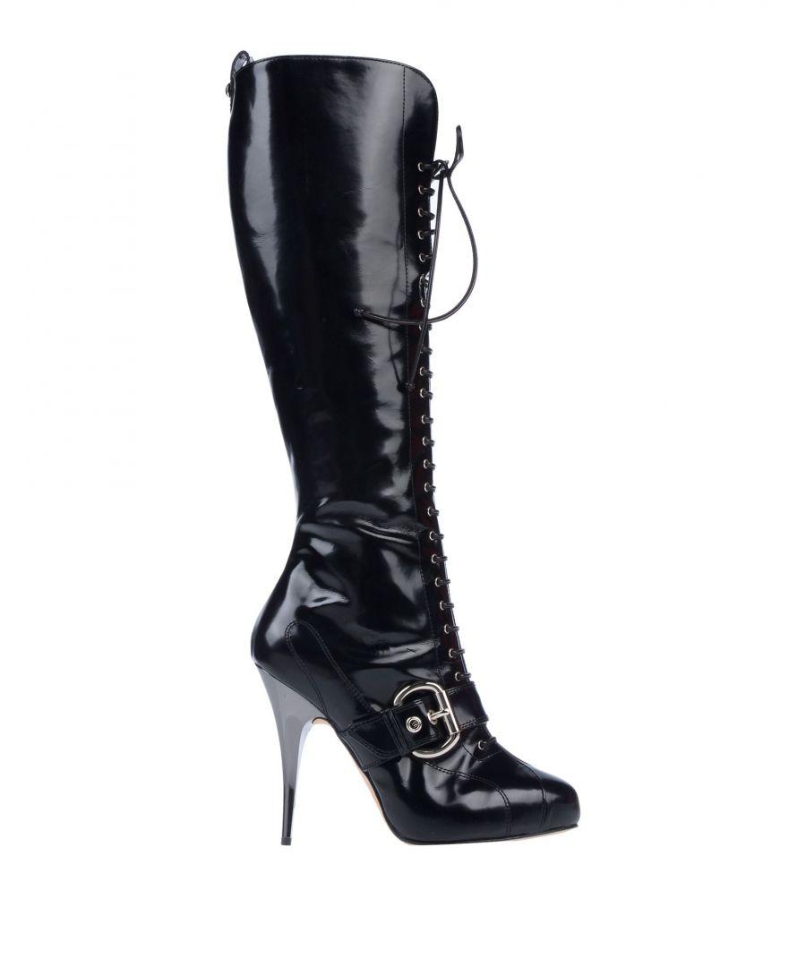 Image for Giuseppe Zanotti Black Polished Leather Boots