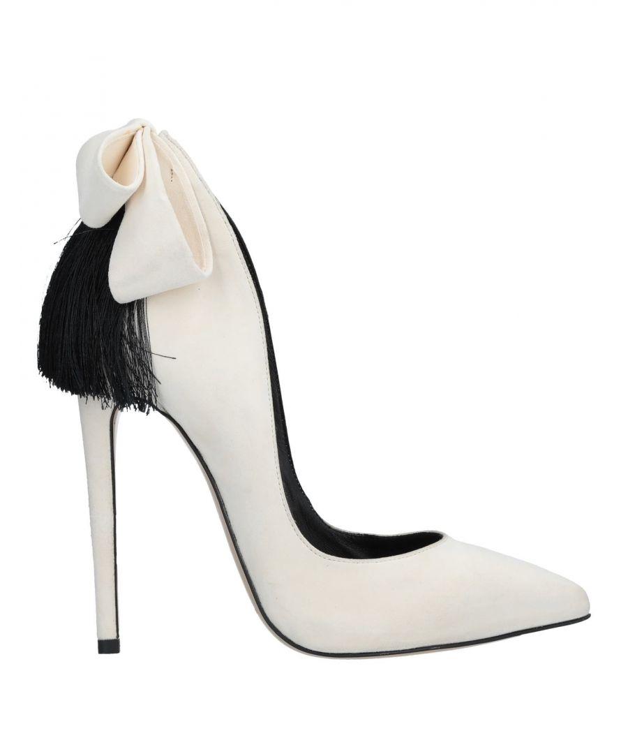 Image for Aleksander Siradekian Ivory Leather Heels