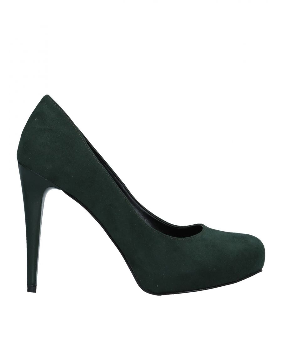 Image for Tipe E Tacchi Dark Green Court Shoe Heels