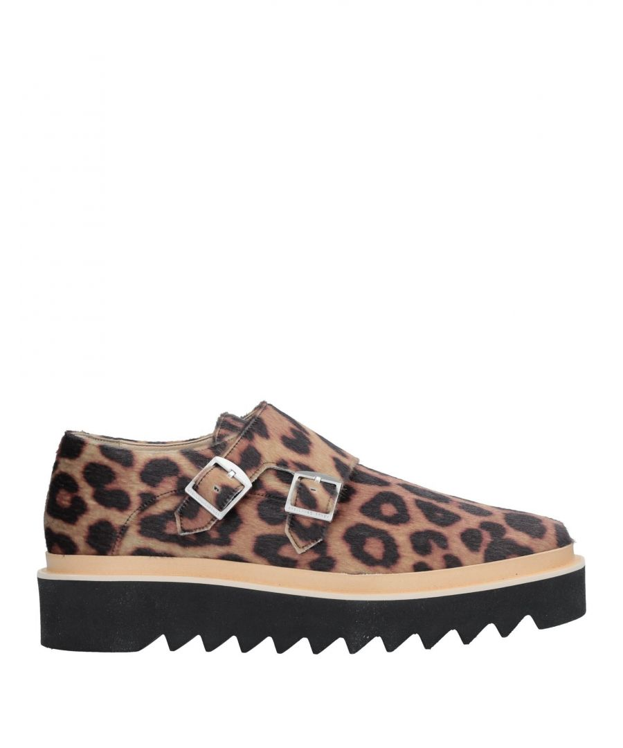 Image for Stella McCartney Leopard Print Double Monkstrap Shoes