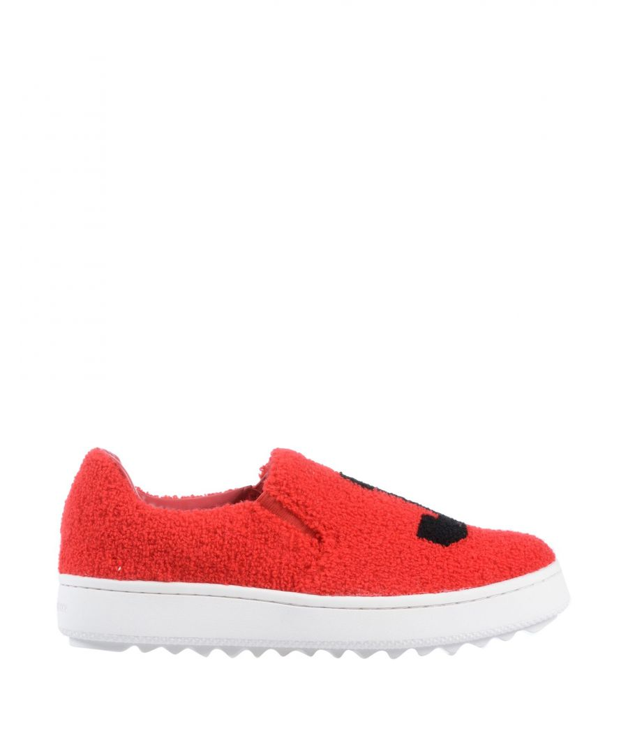 Image for Juicy Couture Red Boucle Slip Ons