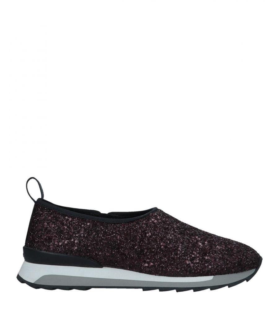 Image for Hogan Rebel Deep Purple Glitter Sneakers