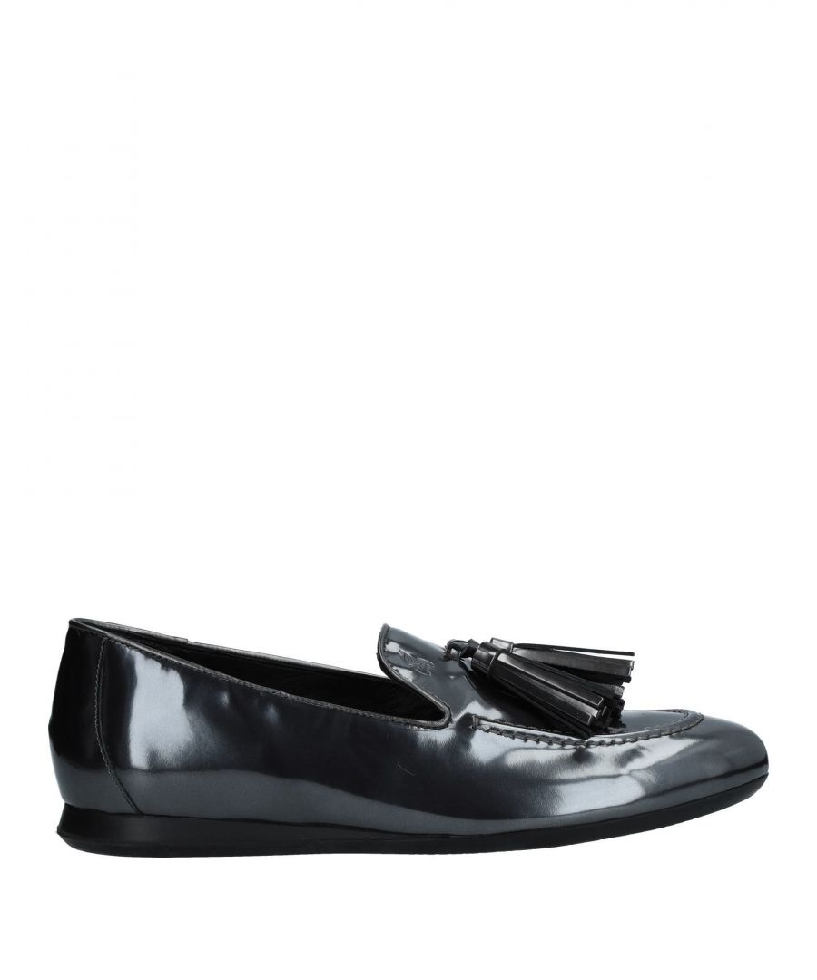 Image for Hogan Lead Leather Loafers