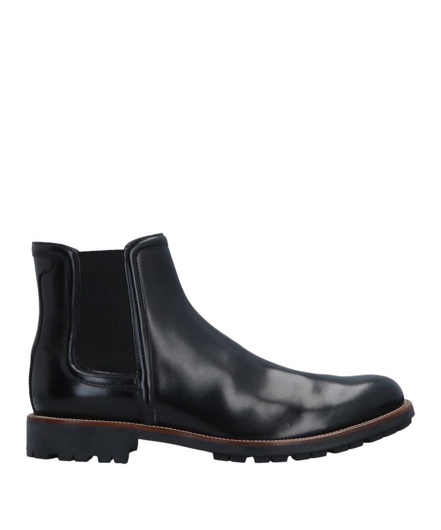 Image for Hogan Black Leather Ankle Boots