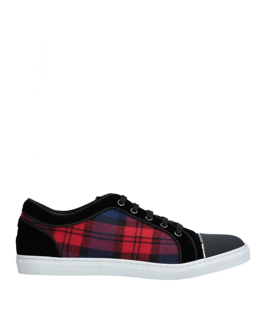 Image for Louis Leeman Red Print Sneakers
