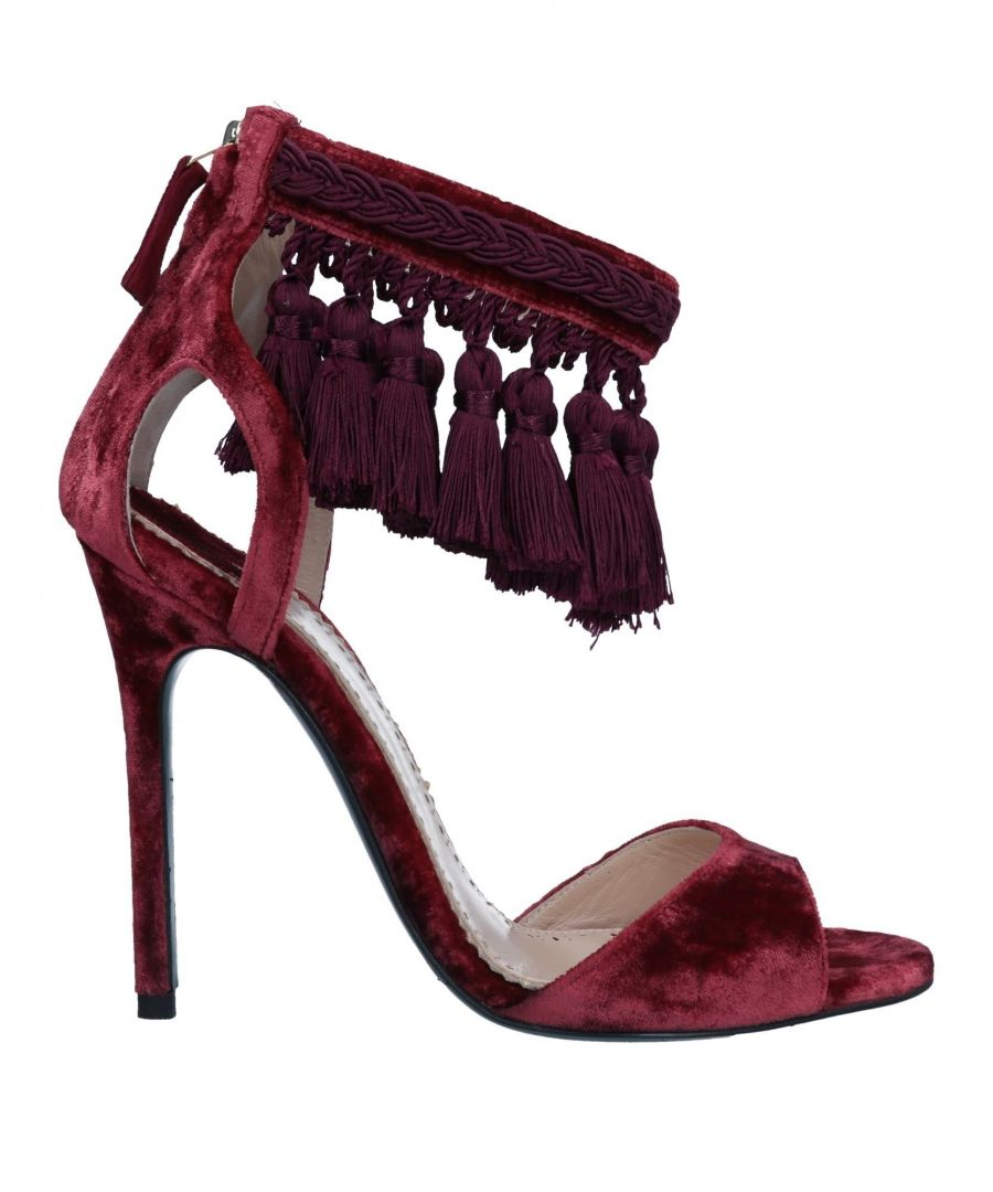 Image for Louis Leeman Rust Fringed Heels