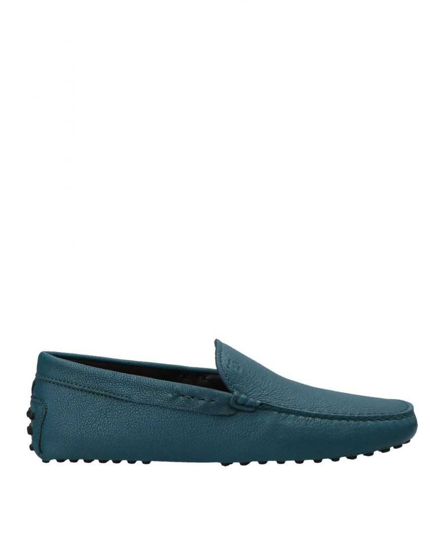 Image for Tod's Deep Jade Leather Loafers