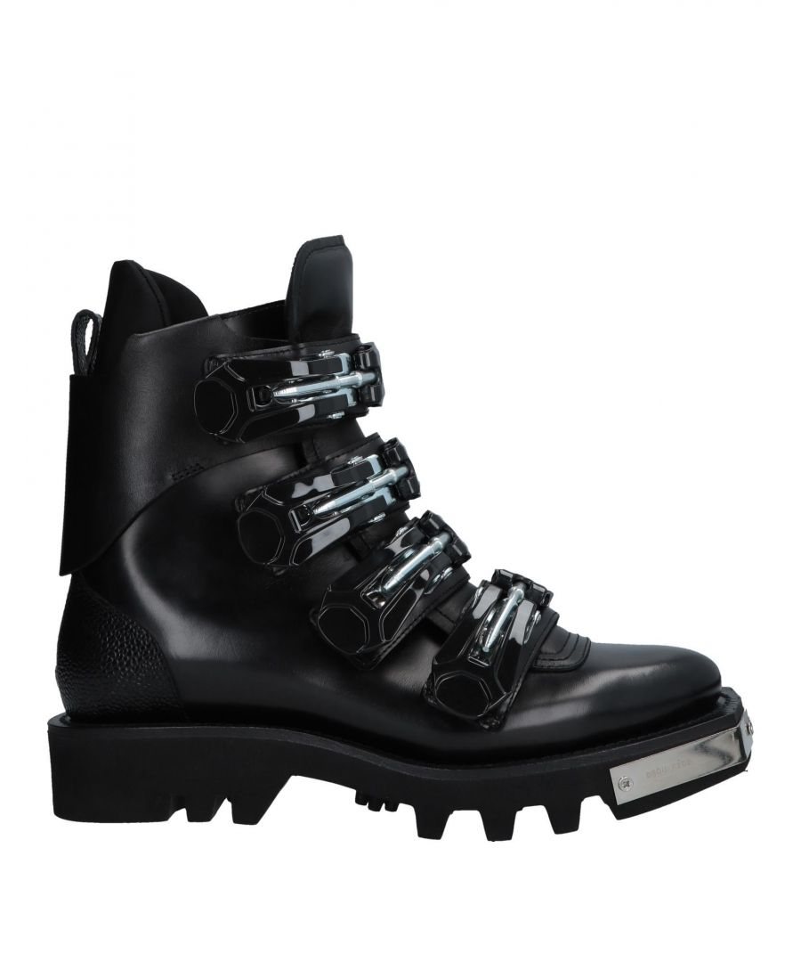 Image for Dsquared2 Black Leather Boots