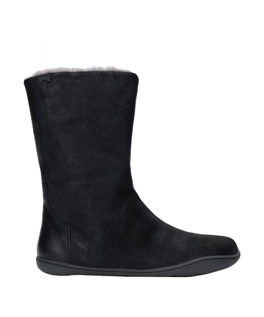Image for Camper Black Leather Boots