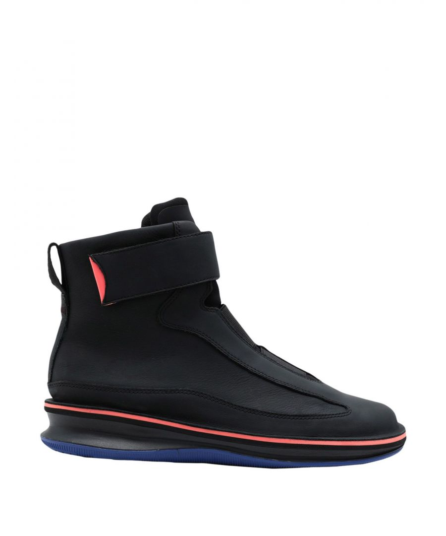 Image for Camper Black Leather Ankle Boots
