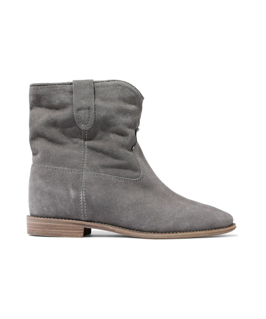 Image for Isabel Marant Woman Ankle boots Grey Leather