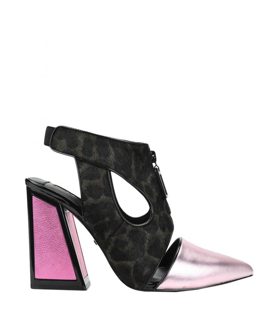 Image for Kat Maconie Pink Leather Heels