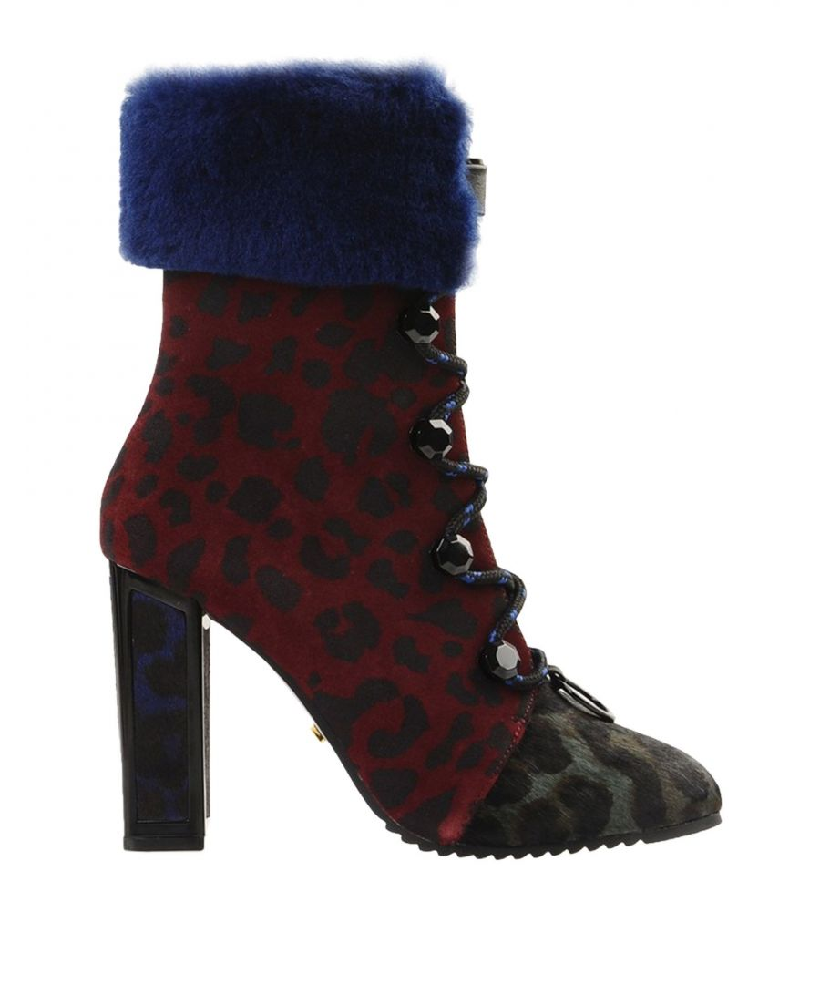 Image for Kat Maconie Maroon Leather Boots