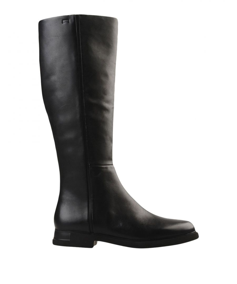 Image for Camper Black Leather Boots