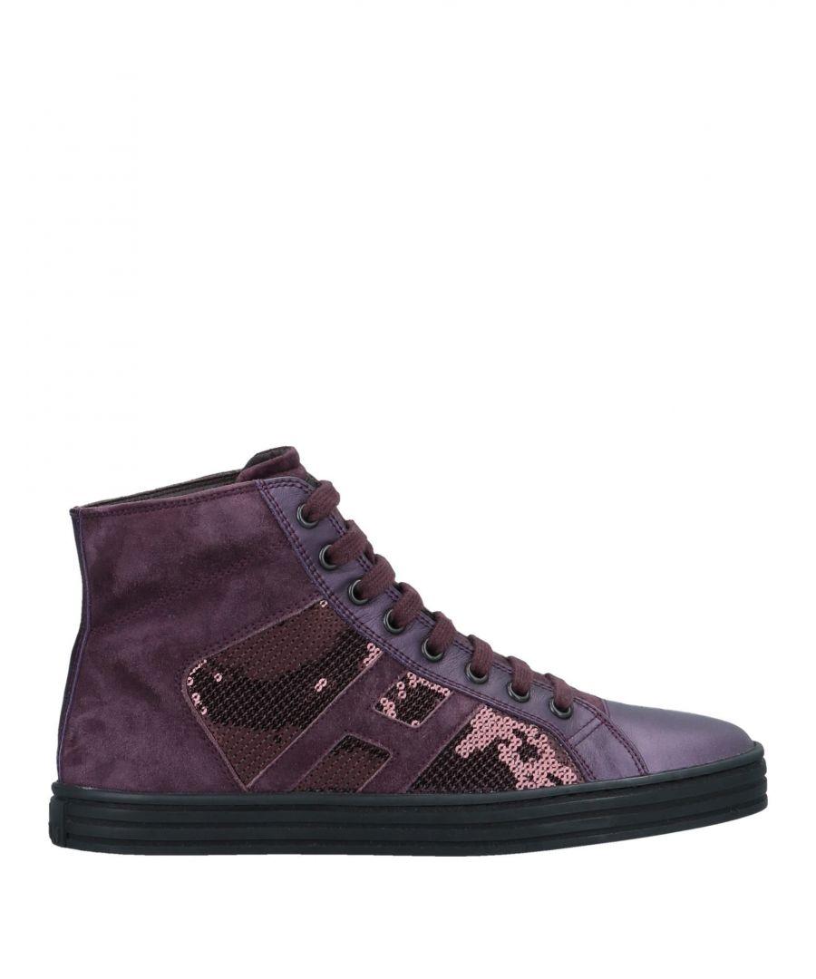 Image for FOOTWEAR Hogan Rebel Deep purple Woman Leather