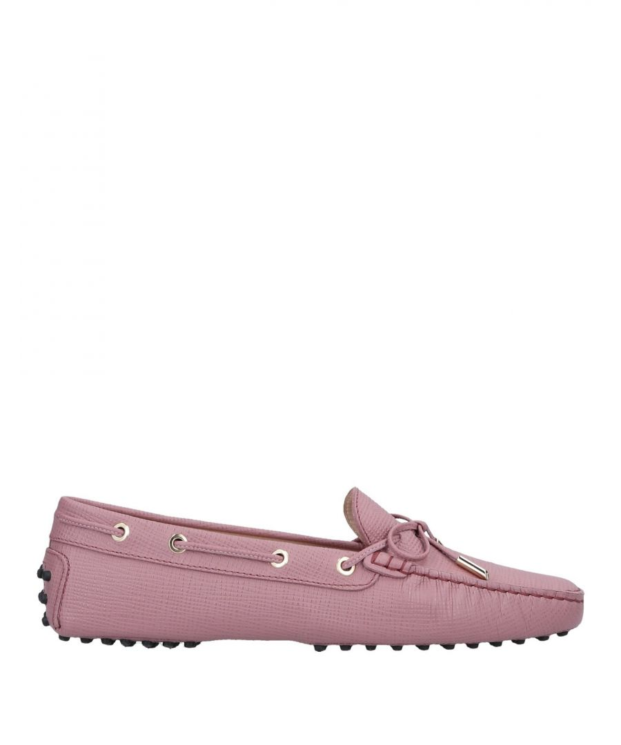 Image for Tod's Light Purple Leather Loafers