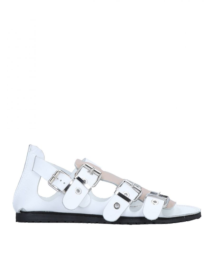 Image for Divine Follie Pale Pink Calf Leather Sandals