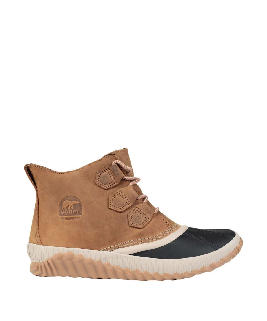 Image for Sorel Camel Leather Boots