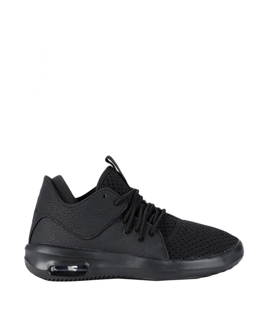 Image for FOOTWEAR Boy Jordan Black Leather