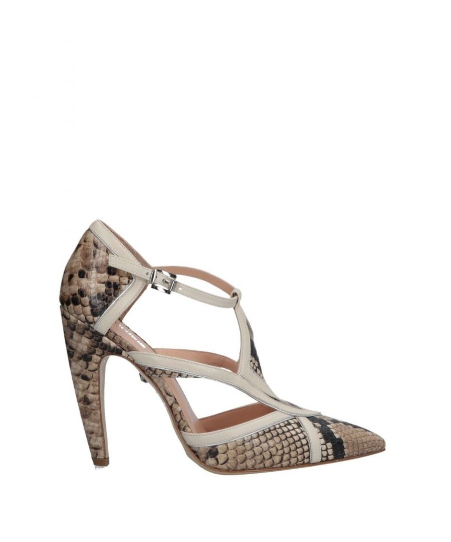 Image for Just Cavalli Beige Leather Heels