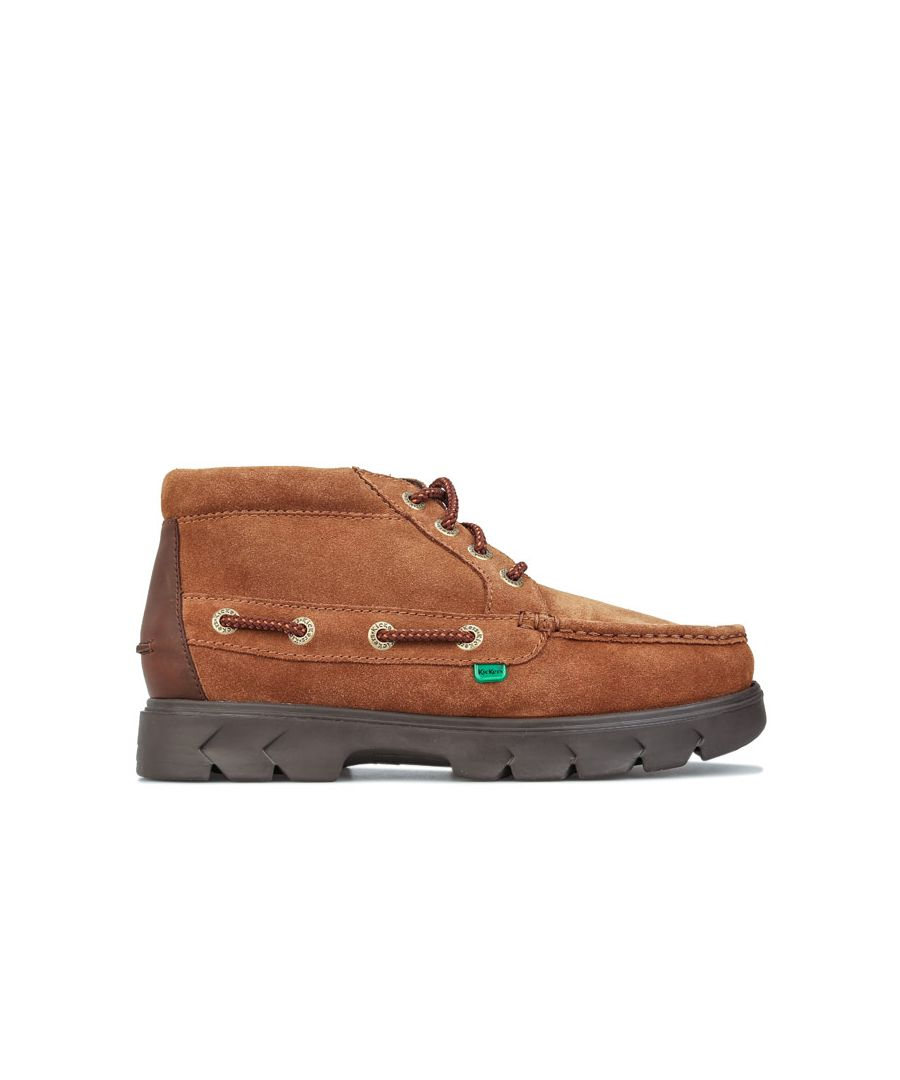 Image for Men's Kickers Lennon Leather Boots in Tan