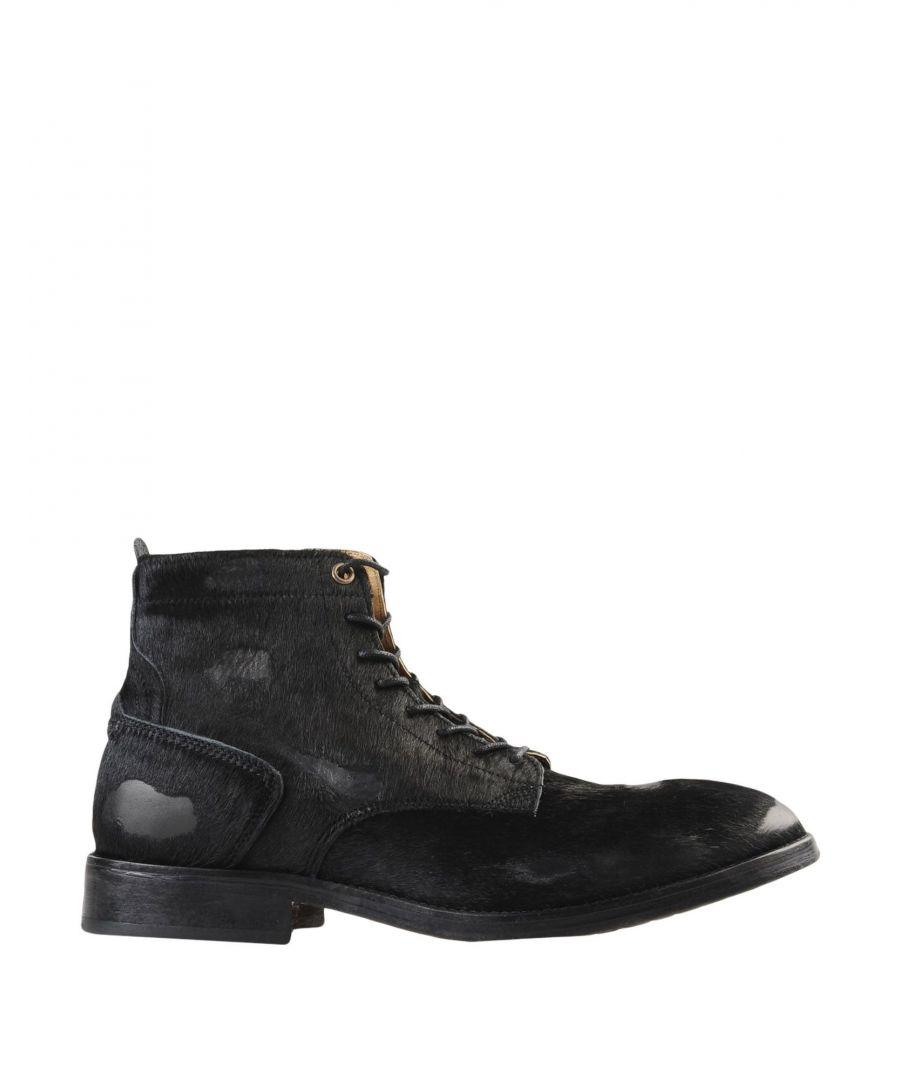 Image for Hudson Black Leather Boots