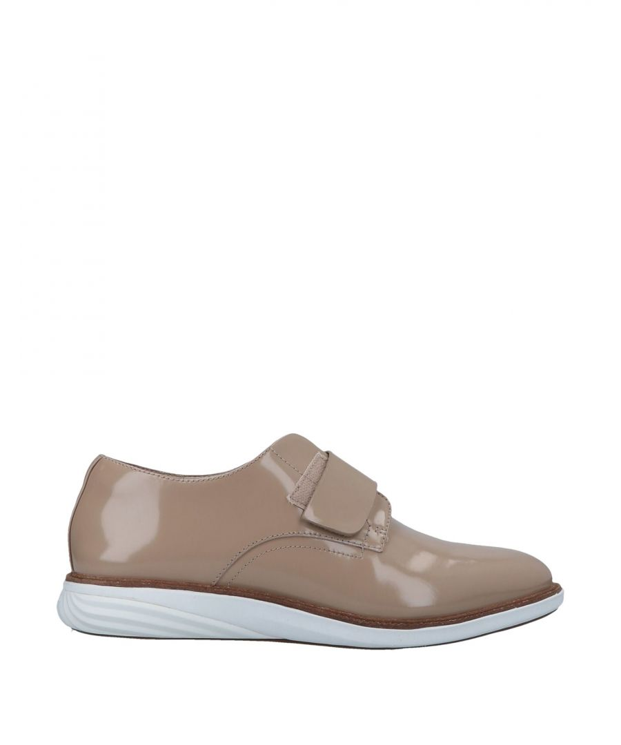Image for Cole Haan Camel Leather Sneakers