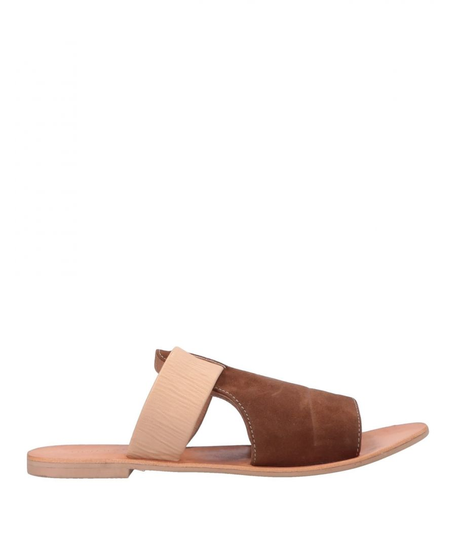 Image for Another Project Brown Leather Sandals