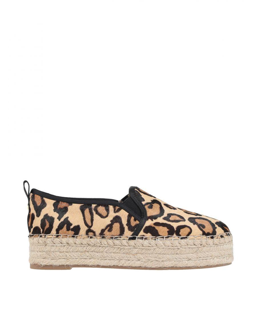 Image for Sam Edelman Leopard Print Leather Espadrilles