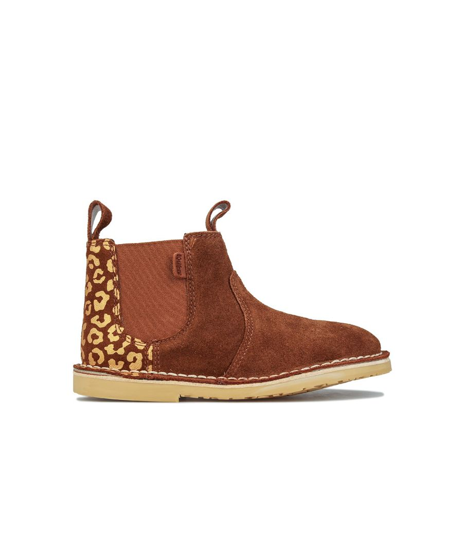 Image for Girls' Kickers Infant Adlar Chelz Boots in Tan