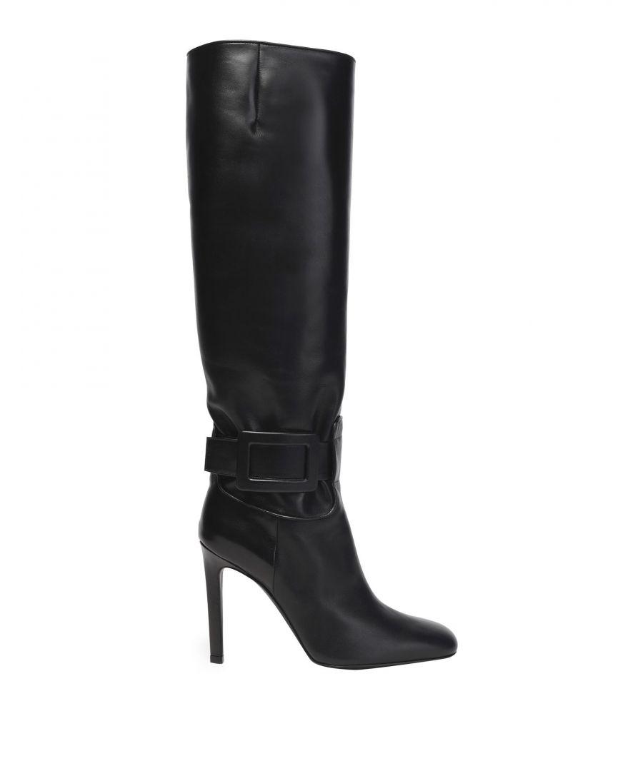 Image for Roger Vivier Women's Boots Black Calf