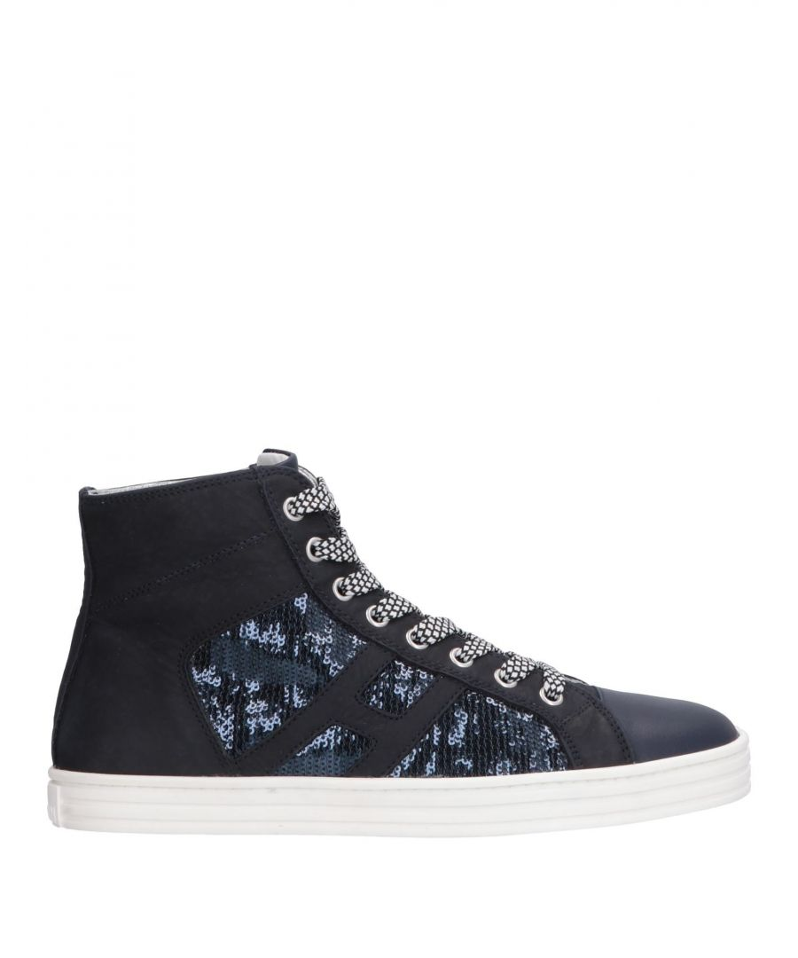 Image for FOOTWEAR Hogan Rebel Dark blue Woman Leather