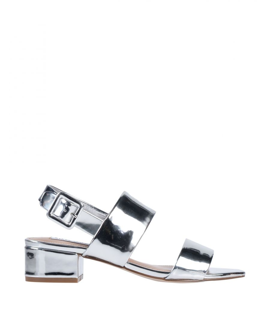 Image for FOOTWEAR Steve Madden Silver Woman Textile fibres