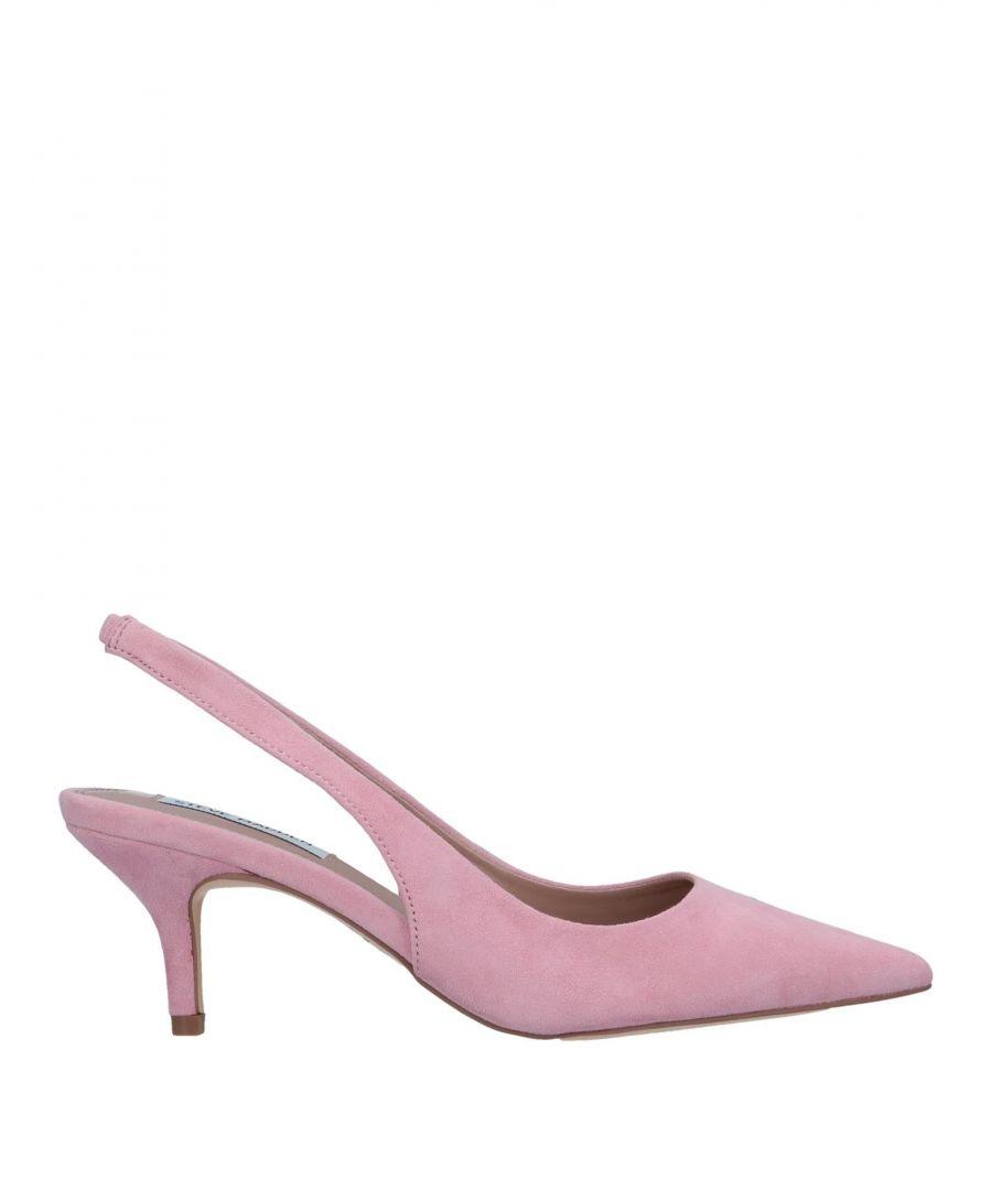 Image for Steve Madden Pink Leather Slingback Heels