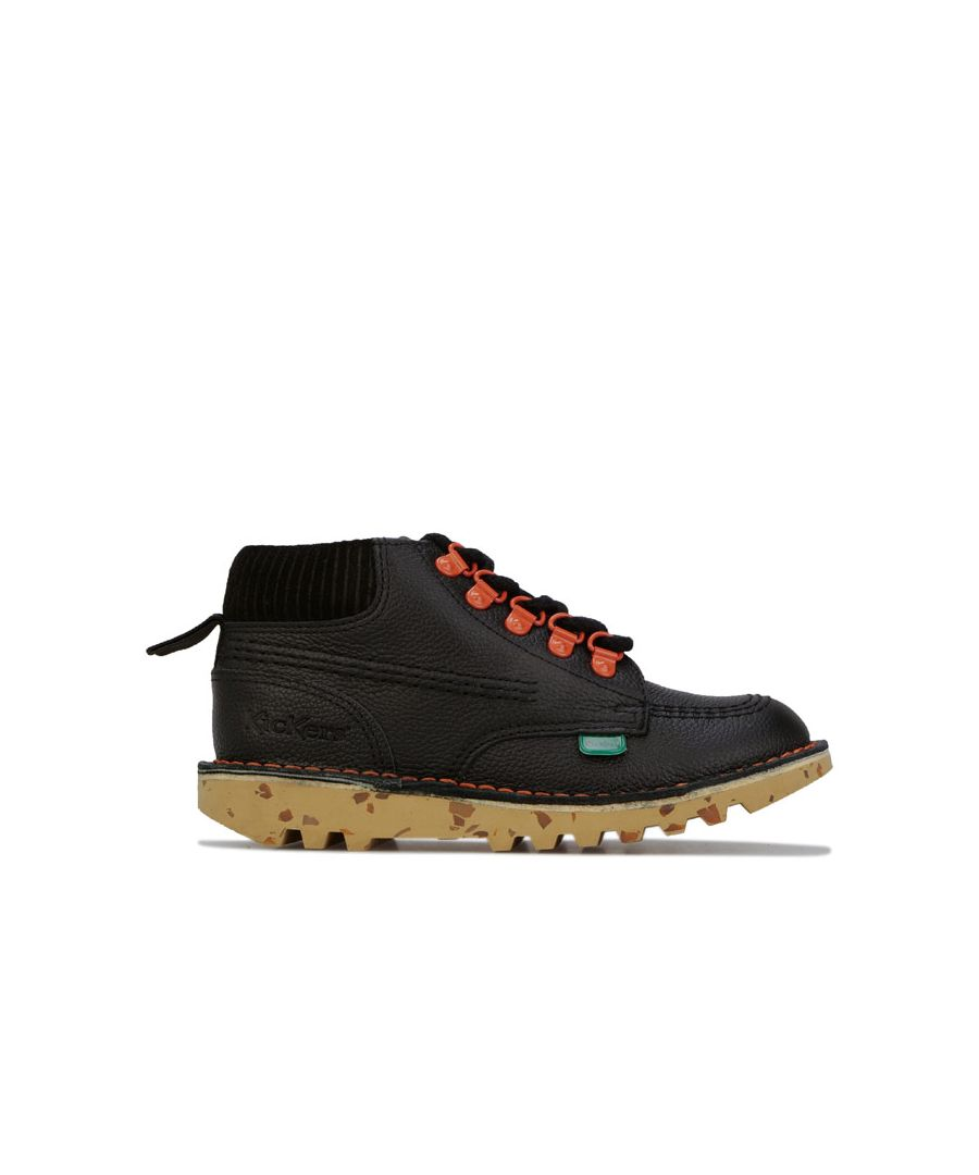 Image for Boy's Kickers Children Kick Hi Winter Boots in Black