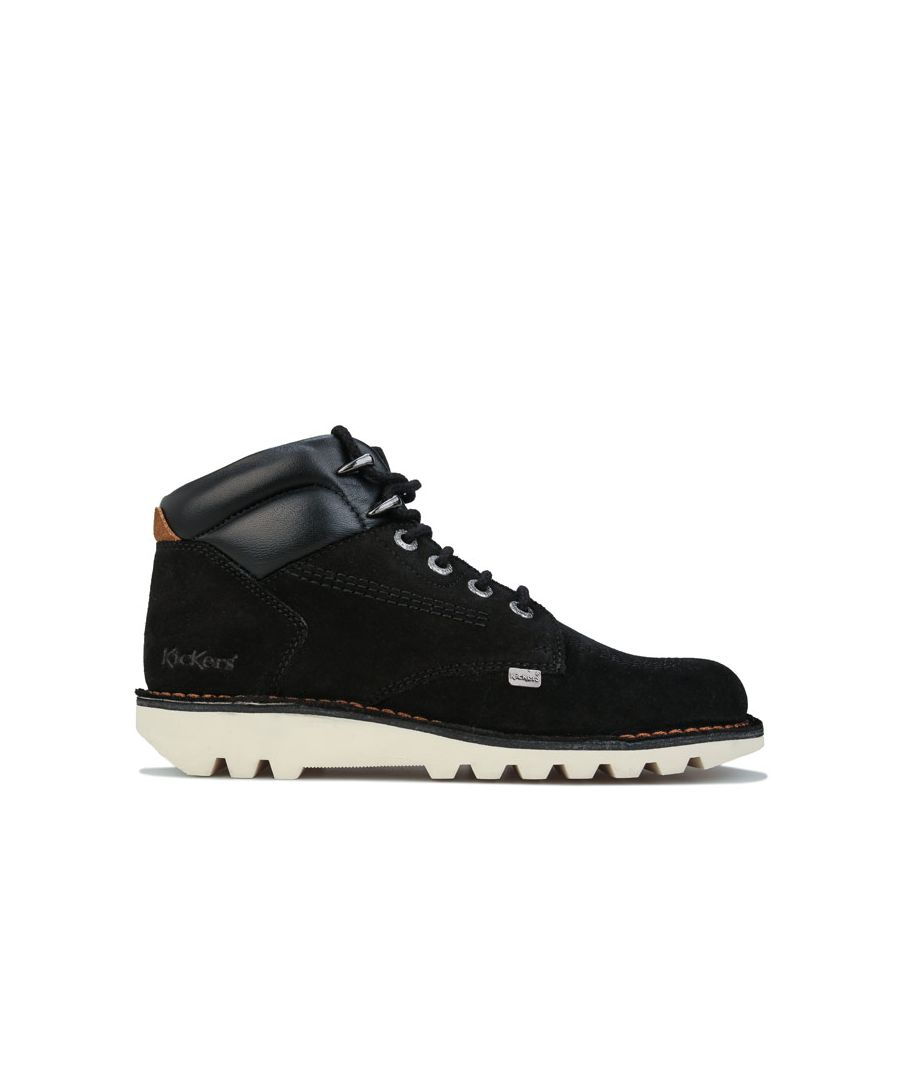 Image for Men's Kickers Kick Rover Leather Boots in Black
