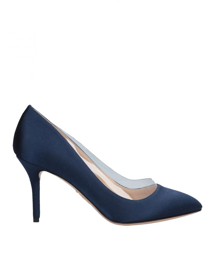 Image for Charlotte Olympia Dark Blue Courts