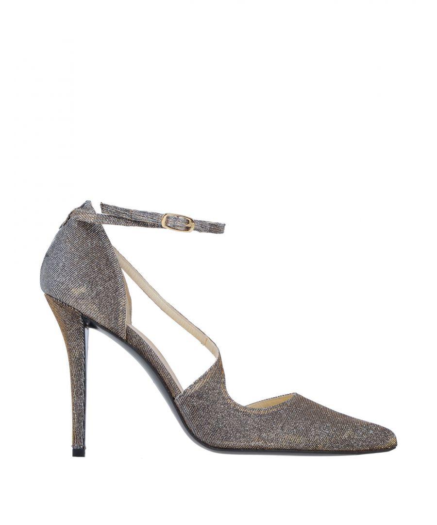 Image for Stuart Weitzman Gold Lame Heels