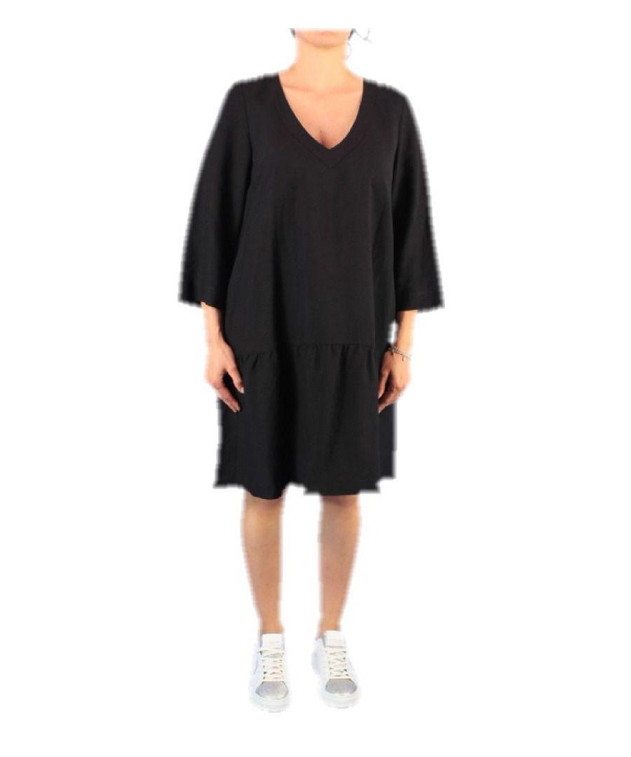 Image for ALTEA WOMEN'S 657090 BLACK VISCOSE DRESS